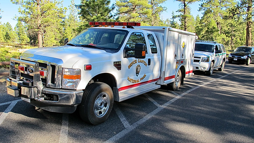 Bryce Canyon National Park Search And Rescue Truck Flickr