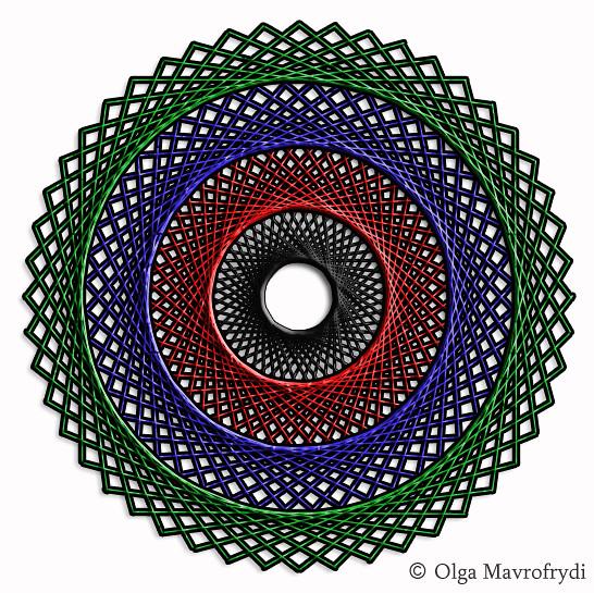 String Digital Digital String Art | by