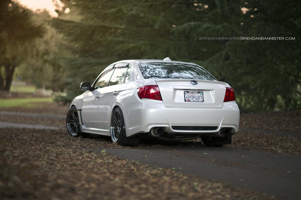 2011 WRX Sedan on Enkei RPF1 SBC | 18x9.5 +38 5x100 Enkei ...