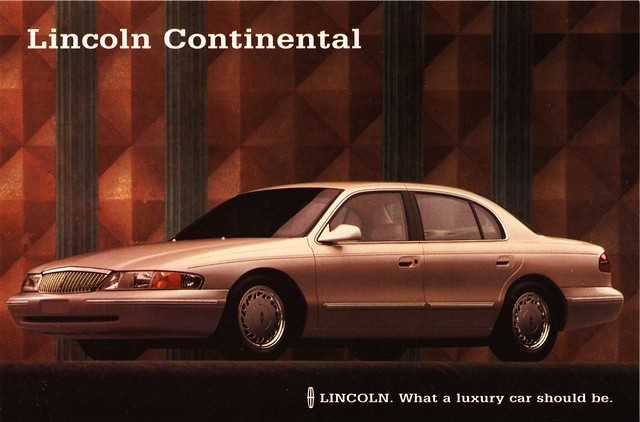 1996 lincoln continental flickr photo sharing. Black Bedroom Furniture Sets. Home Design Ideas