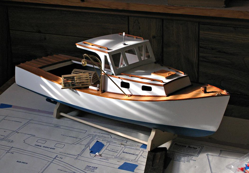 Boothbay Harbor Lobster Boat Model _4632 | After 20 years in… | Flickr