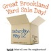 Great Brookland Yard Sale 2012