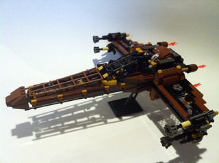 SteamPunk X-Wing | by Steadibrick