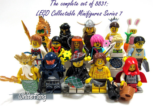 Let's start our New Year by completing a set of 16 unique minifigures in Series 7! | by WhiteFang (Eurobricks)