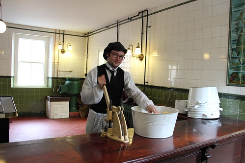 Chipping potatoes at Beamish Museum (IMG_1153) | by The Doofers