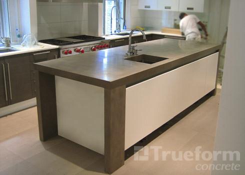 Modern Countertop concrete countertop modern kitchen | concrete countertop… | flickr