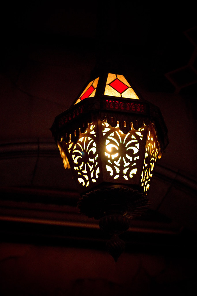 Tower of Terror Lamp   A lamp inside Tower of Terror at ...