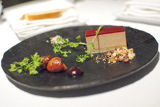 Terrine of Foie Gras Seasonal Flavors and Toasted Whey Bread | by Darin Dines