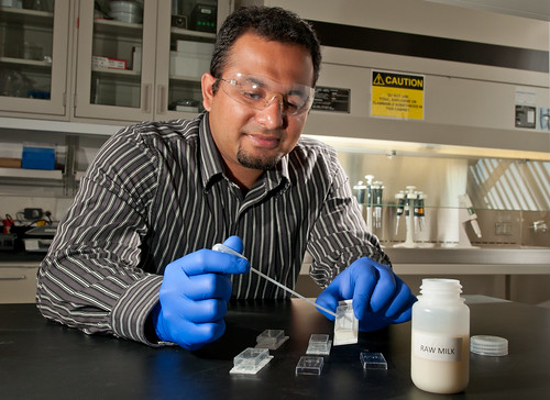 Researcher Aeraj ul Haque | by Argonne National Laboratory