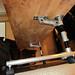Adjustable Height Rolling Desk