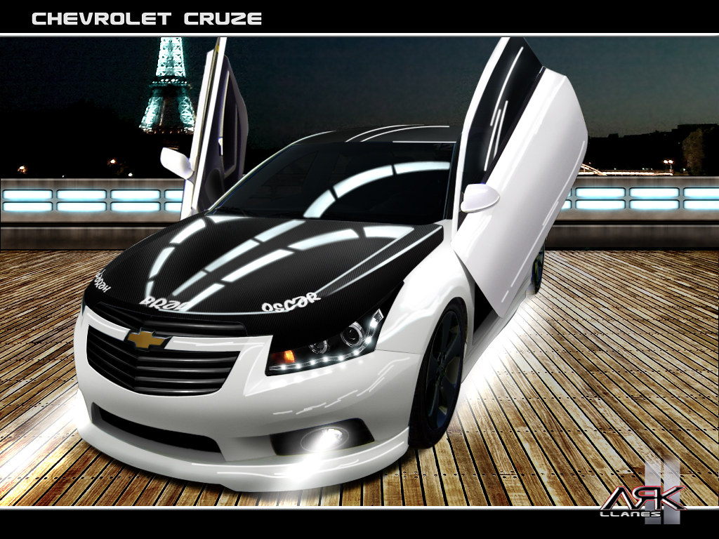 70 wallpaper chevrolet cruze white elegante tuning by ark. Black Bedroom Furniture Sets. Home Design Ideas