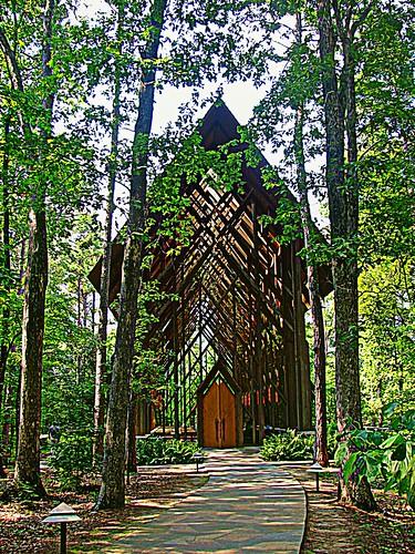 08 11 12 Anthony Chapel at Garvan Gardens in Hot Springs