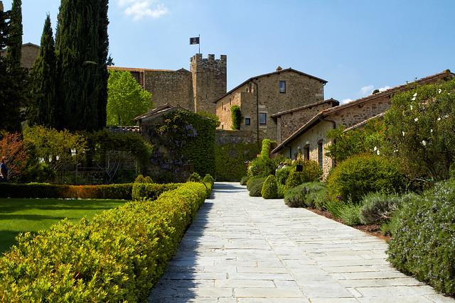 Castello Banfi Winery - Tuscany, Italy