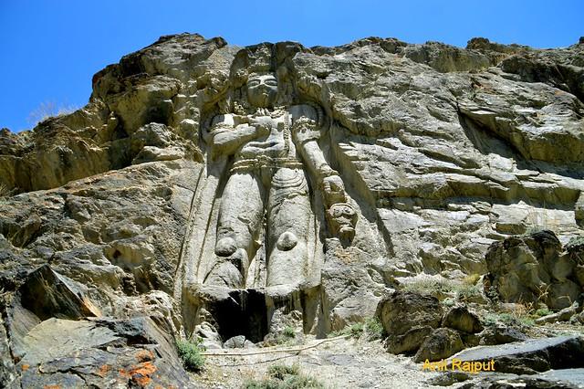 Matreya Buddha, Chamba statue, Kartsekhar, Sankoo, Suru valley, Kargil