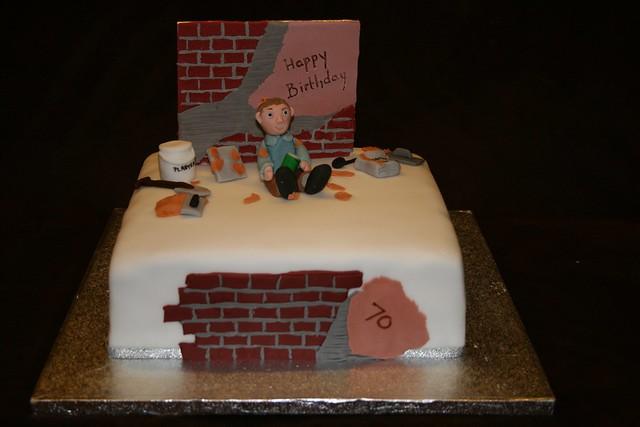 Trowel Birthday Cake