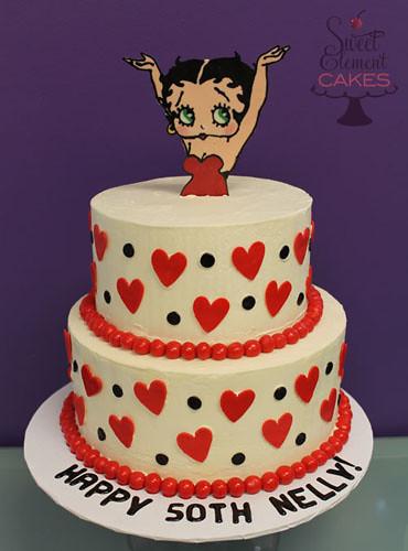 Betty Boop Birthday Cake Www Sweetelement Com Jen