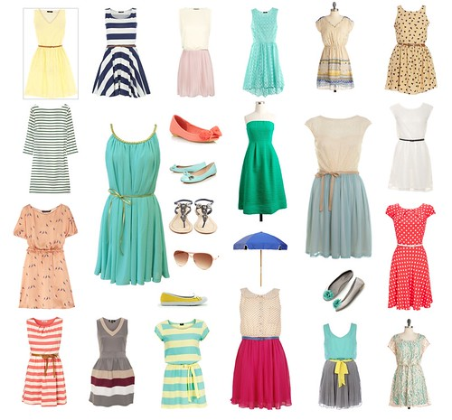 summer dresses | by I Should Be Folding Laundry