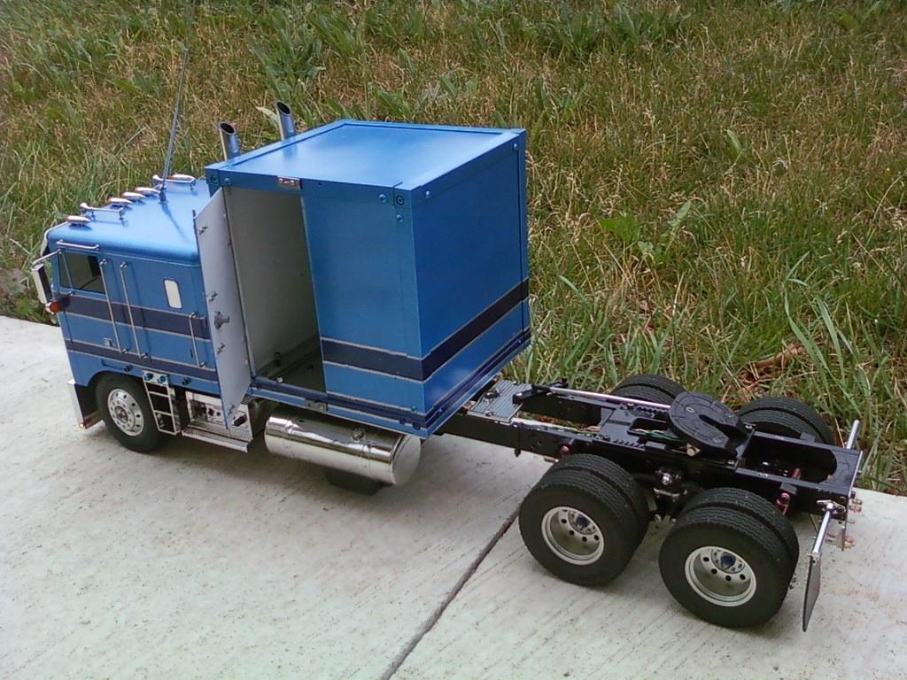tamiya trucks kenworth cabover k 100 here is my recent bui flickr. Black Bedroom Furniture Sets. Home Design Ideas