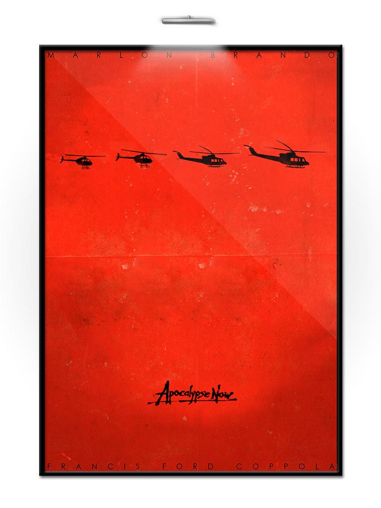 apocalypse now minimalist movie poster design by