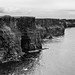 dramatic black & white...cliffs of moher