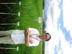 JH Chin who developed the PSTOL1 breeding lines at IRRI.