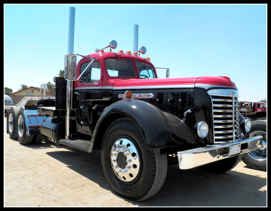 Vintage Gmc Big Rig A Great Looking Old I 39 M Thinking
