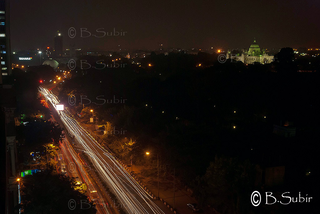 Kolkata at night with Victoria Memorial....DSC_6911 | Flickr