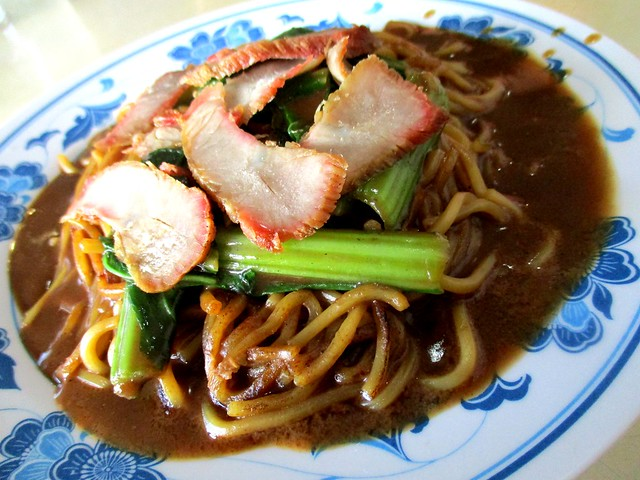 Foochow fried noodles, wet - dark