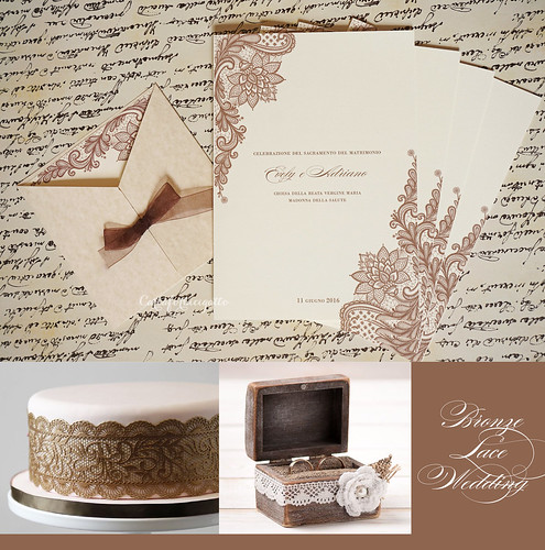 Bronze Lace Wedding