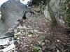Brèche du Carciara d'Aragali : le magnifique chemin d'exploitation (dallé ?)