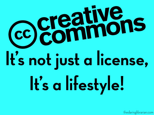 Creative Commons | by The Daring Librarian