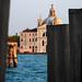 Venice - A Quayside View of Le Zitelle Across the Canale della Giudecca