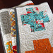 modern crosses comfort quilt