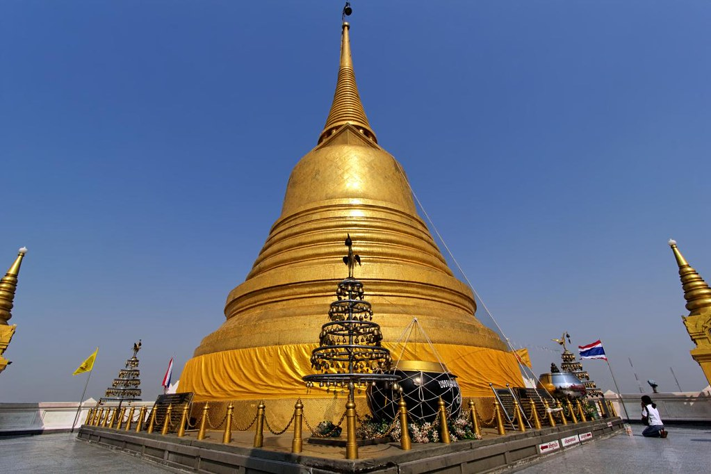 Chedi of the Temple of the Golden Mount  Bangkok  Explore(…  Flickr