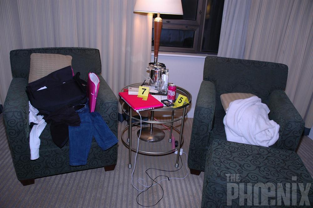 Craigslist Killer Crime Scene Photos, Westin Hotel, April ...