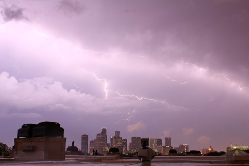 Lightning over H-Town | by J-a-x