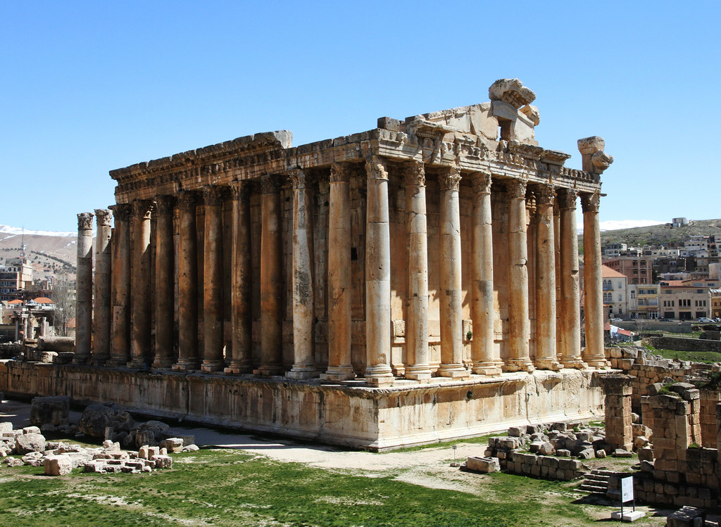 Mar 12 The Famous Temple Of Bacchus Or Dionysus Roman E