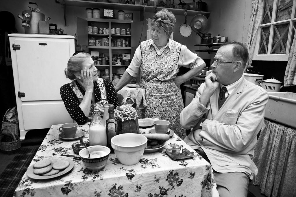 Kitchen Sink Drama A 1940 39 S Kitchen Sink Drama Unfolds Jason Dale Flickr