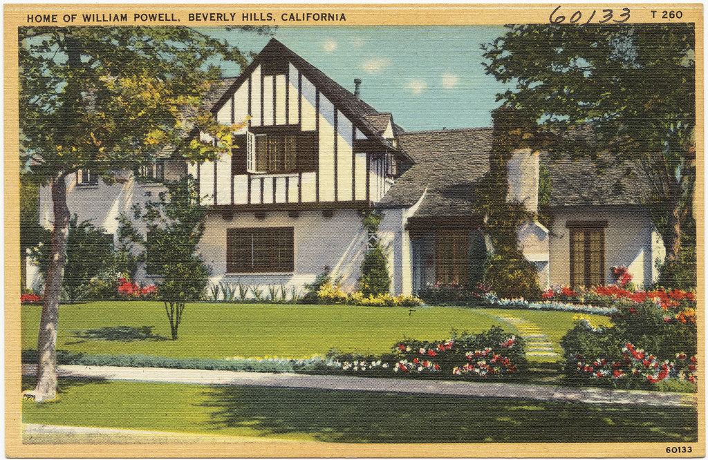 Home of william powell beverly hills california file for Powell homes