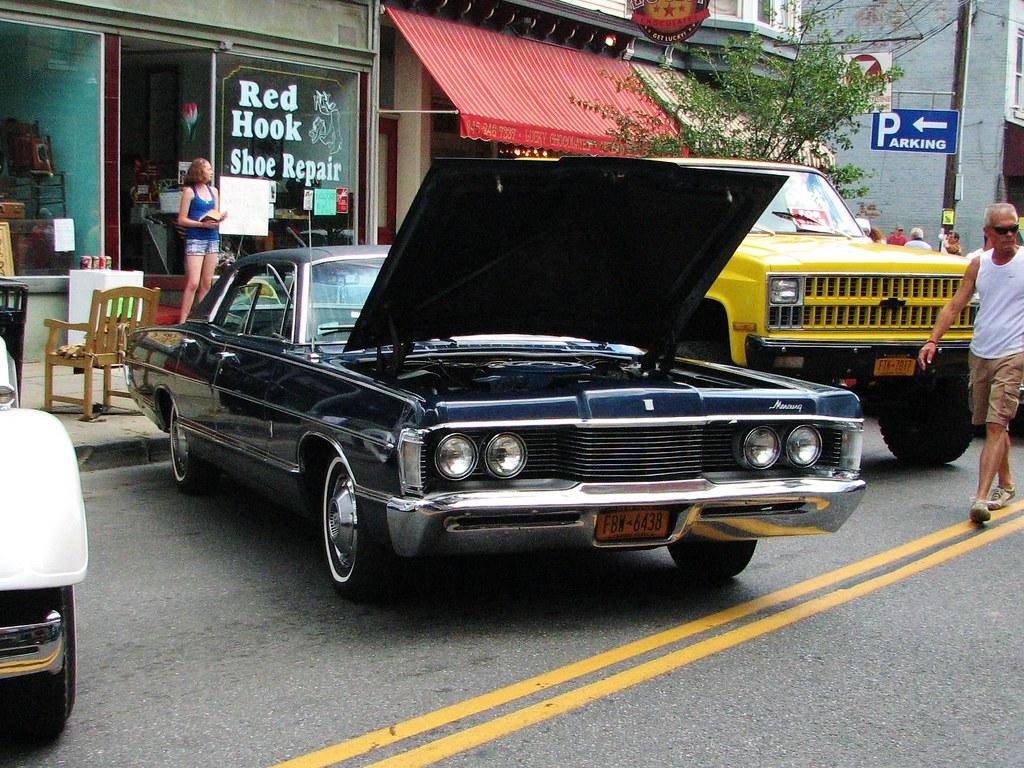 1968 Mercury Park Lane In 2012 Seen At The Sawyer Motors
