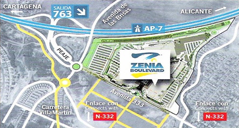La Zenia Boulevard Shopping Centre, Orihuela Costa | Flickr | 490 x 262 jpeg 102kB