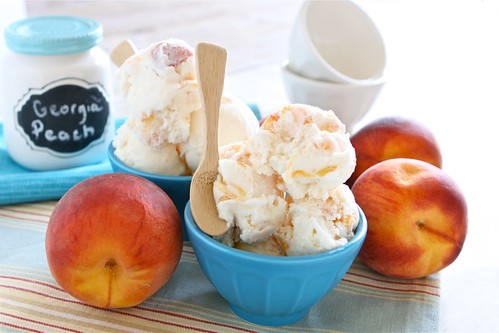Peach Ice Cream 002 | by Hungry Housewife