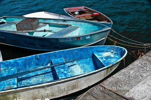 Dinghies | by Vicki Lund Photography