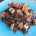 Salade de lentilles vertes - Linsensalat