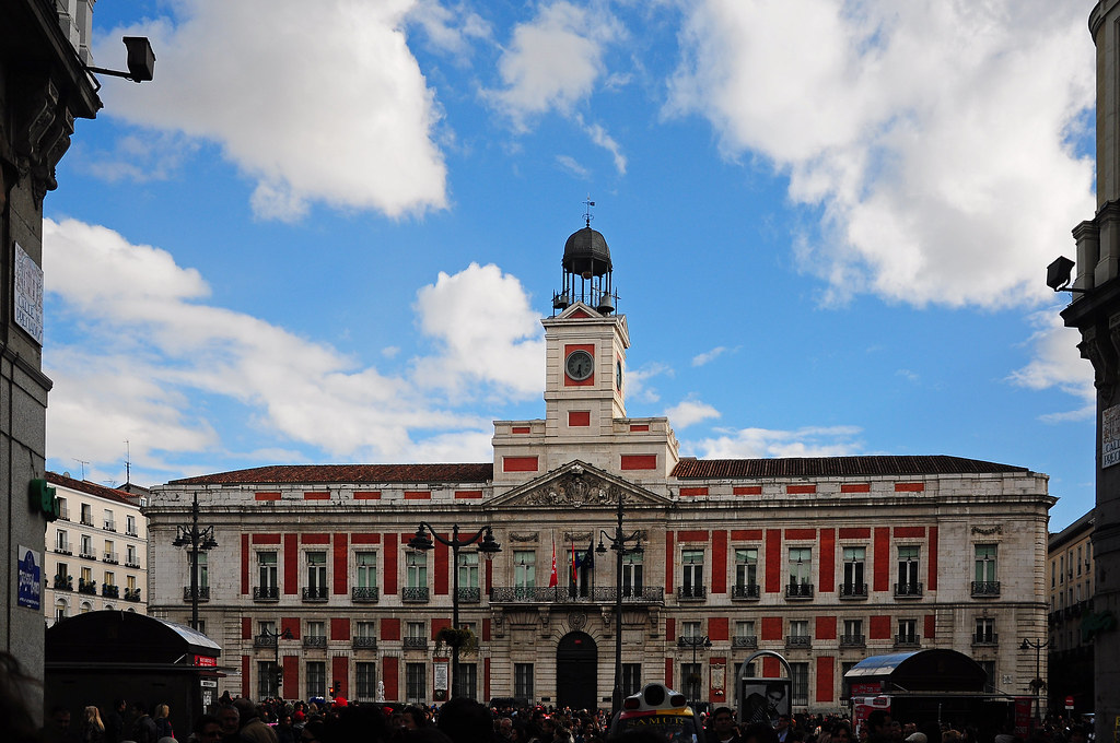 Real casa de correos madrid la real casa de correos es for La real casa de correos