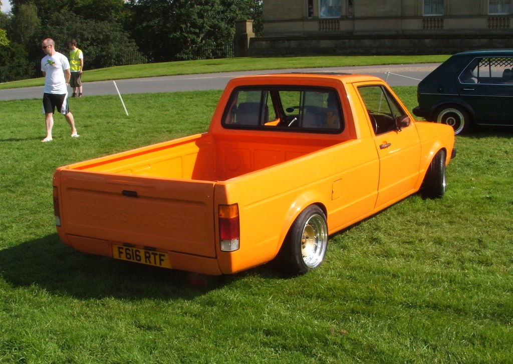 Volkswagen Caddy Pick Up Picture Taken At Vw Festival