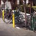 Bike Corral at Farmers Market