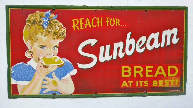 reah for sunbeam bread sign flickr photo sharing