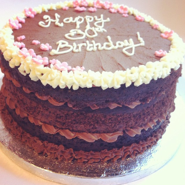 Vegan Birthday Cake Images : Vegan Chocolate birthday cake Flickr - Photo Sharing!