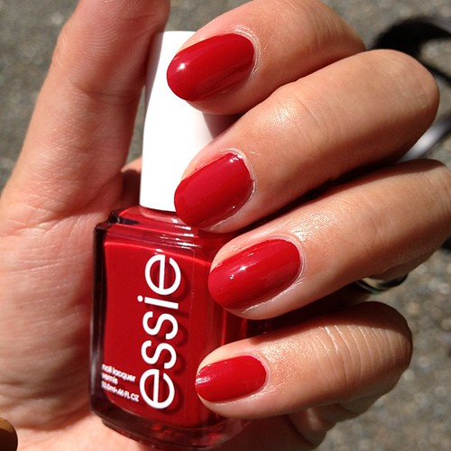 """@essiepolish """"forever Yummy"""" Best Red Nail Polish I've"""